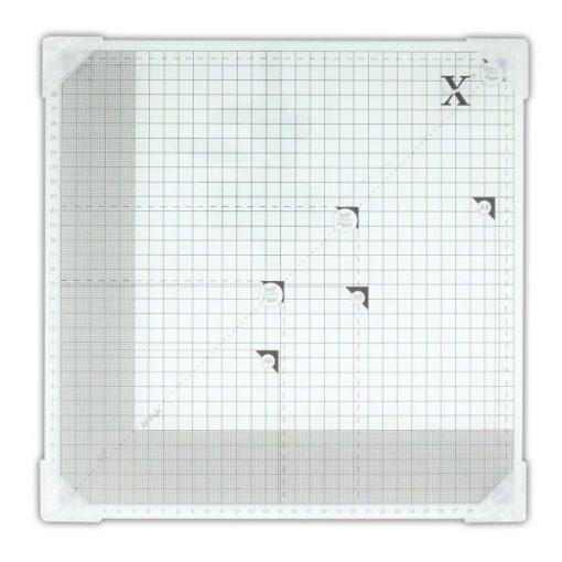 Cutting Mat Scrapbook Tagliere Vetro Temperato con Griglia Scrapbooking