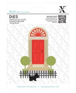 Fustella Die Scrapbook Porta Georgian Door