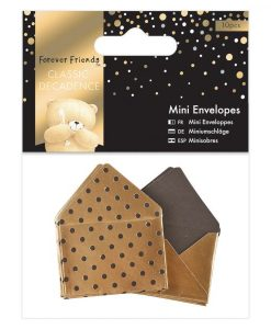 Bustine Lettere Dorate Golden Scrapbook