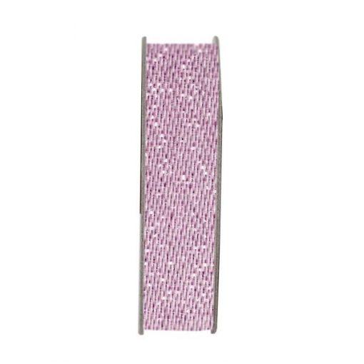 Nastro Satinato Glitter Rosa Scrapbook