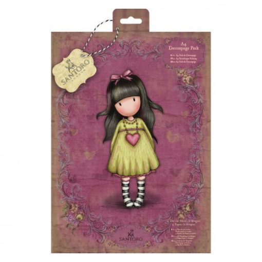 Scrapbook Gorjuss Santoro - Heartfelt Decoupage Pack