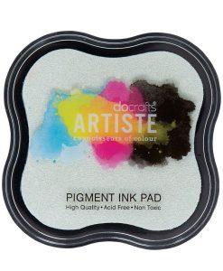 Tampone per Stamp Inchiostro Pigmentato Timbri Scrapbook Clear Trasparente Emboss