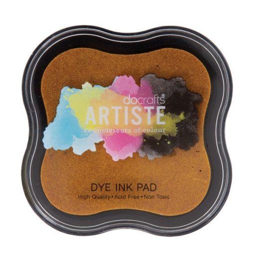Tampone per Stamp Inchiostro Dye Timbri Scrapbook Clear Giallo Scuro Yellow