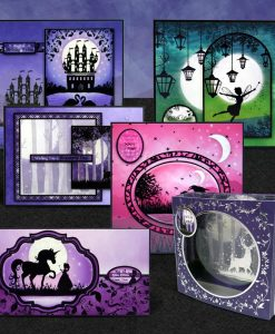 Scrapbook Cartoncino Acetato Shadow Box Twilight Kingdom