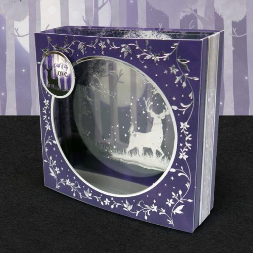 Shadowbox Shadow Box Scrapbook Acetato Twilight Kingdom