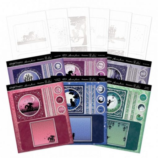 Kit per realizzare Shadow Box - Twilight Kingdom Shadowbox Shadow Box Scrapbook Acetato Twilight Kingdom