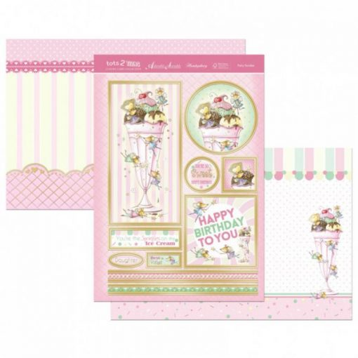 Kit per scrapbooking Topper Set - Fairy Sundae Topper Set Kit Biglietti Cards Scrapbook Decoupage