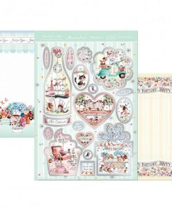 Kit per scrapbooking Topper Set - Beautiful Boutiques Luxury Topper Set Kit Biglietti Cards Scrapbook Decoupage Beautiful Cardmaking Papercraft