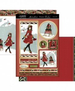 Kit per scrapbooking Topper Set - Glorious Gifts (Natale) Topper Set Kit Biglietti Cards Scrapbook Decoupage Christmas Cardmaking Papercraft