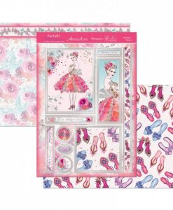 Kit per scrapbooking Topper Set - Dresses To Impress Scrapbook Biglietti Cardmaking Papercraft Hunkydory