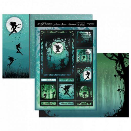 Kit per scrapbooking Topper Set - At The Bottom Of The Garden Twilight Kingdom Adorable Scorable Cartoncino Kit Biglietti Scrapbook