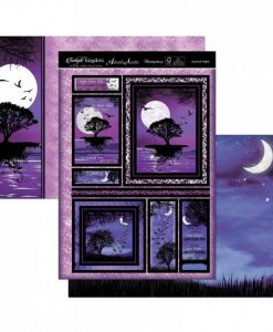 Kit per scrapbooking Topper Set - Mystical Nights Twilight Kingdom Adorable Scorable Cartoncino Kit Biglietti Scrapbook Cardmaking Kit