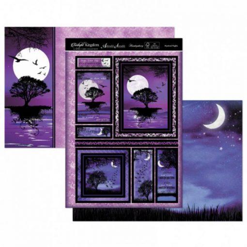 Kit per scrapbooking Topper Set - Mystical Nights Twilight Kingdom Adorable Scorable Cartoncino Kit Biglietti Scrapbook Cardmaking Kit