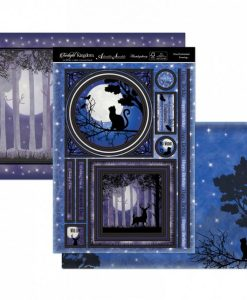 Kit per scrapbooking Topper Set - One Enchanted Evening Twilight Kingdom Adorable Scorable Cartoncino Kit Biglietti Scrapbook Cardmaking Kit