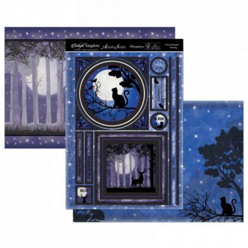 Kit per scrapbooking Topper Set - One Enchanted Evening Twilight Kingdom Adorable Scorable Cartoncino Kit Biglietti Scrapbook Cardmaking Kit