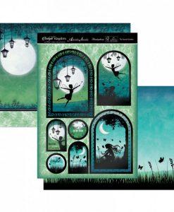 Kit per scrapbooking Topper Set - The Secret Garden Twilight Kingdom Adorable Scorable Cartoncino Kit Biglietti Scrapbook Cardmaking Kit