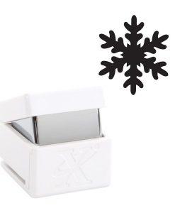 Foratrice Fustella Punch a leva Fiocco di neve Natale Christmas Xmas Scrapbook Cardmaking Papercraft Inviti Biglietti