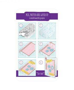 Istruzioni Timbro Stamp Scrapbooking