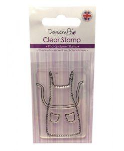 Grembiule Apron Timbro Stamp Scrapbook