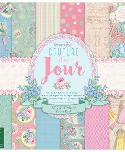 Trimcraft Italia Couture du Jour Paper Pad Bloccheto Scrapbook Cartoncino