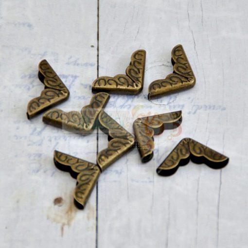 Angoli Metallici Quaderni Album Scrapbooking