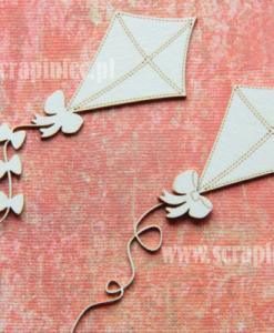 Aquilone Fustellato Scrapbook Die-cut Chipboard Cartoncino Pressato
