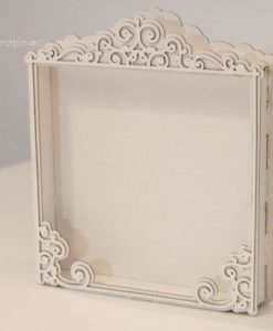 Shadow Box Fustellata Scrapbook