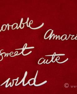 Scritte Fustellate Amazing Sweet Wild Cute Scrapbooking Scrapbook Italia