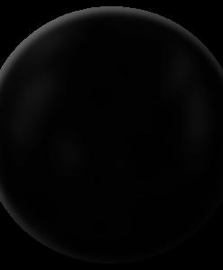 Crystal Drops Ebony Black Perline Liquide Nero