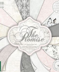 Trimcraft Italia The Promise Paper Pad Bloccheto Scrapbook Cartoncino