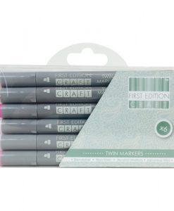 Pennarelli Rosa Scrapbook Miscelabile
