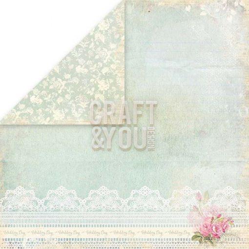 Wedding Garden Cartoncino Stampato per Scrapbooking Italia