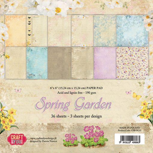 Cartoncino Scrapbooking Inviti Biglietti Italia Primavera Spring Garden