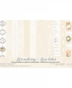 Love Letter Carta Cartoncino Stampato Decoupage Scrapbooking Studio 75