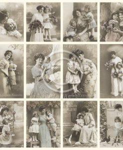 Carta Scrapbooking Stampata Pion Design Italia mother's day