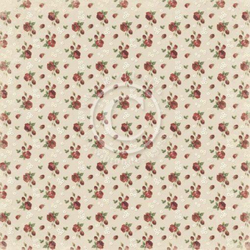 Valentine Roses scrapbooking paper Pion Design