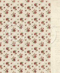 Valentine Roses - Foglio Singolo per Scrapbooking Valentine Roses scrapbooking paper Pion Design