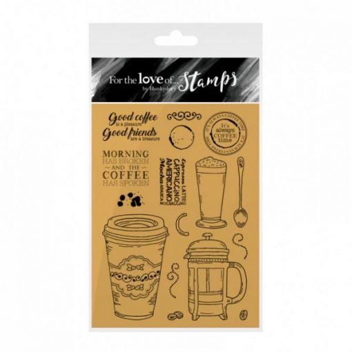 Timbro A6 Clear - Coffee Time Stamps Timbri CaffèTimbro Special Gifts Hunkydory Italia Scrapbook Papercraft Cardmaking Biglietti