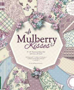 Trimcraft Italia Mulberry Kisses Paper Pad Bloccheto Scrapbook Cartoncino