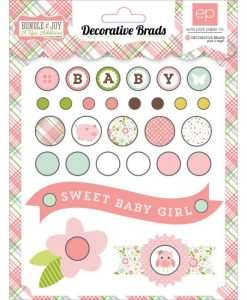 Girl Brads Scrapbooking Italia Perline