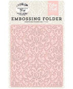 Embossing Folder Matrimonio Wedding
