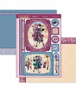 Kit per scrapbooking Topper Set - Beautiful Friends Hunkydory Italia Anni 20
