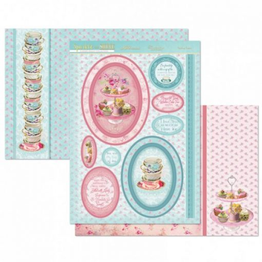 Kit per scrapbooking Topper Set - Teatime Treats