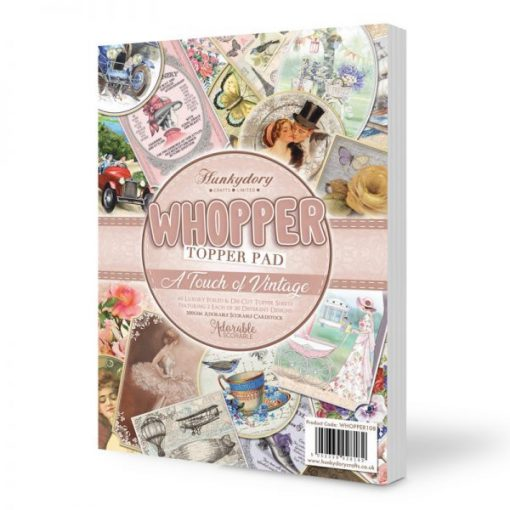 Cartoncino Topper Pad - A Touch of Vintage Scrapbooking Hunkydory Italia
