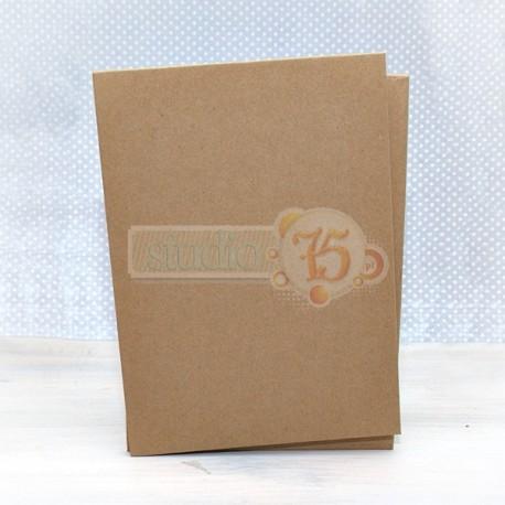 Copertina craft per album di scrapbook - A5
