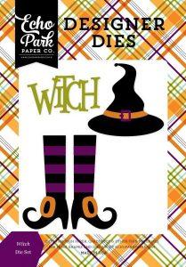 Witch Die Set - Fustella (Strega) Halloween