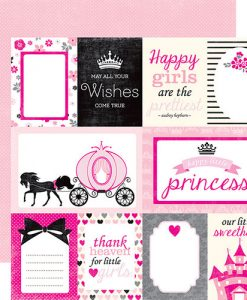 "Princess Journaling - Cartoncino 12x12"" Principessa"