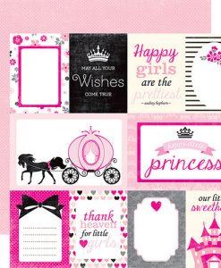 """Princess Journaling - Cartoncino 12x12"""" Principessa"""