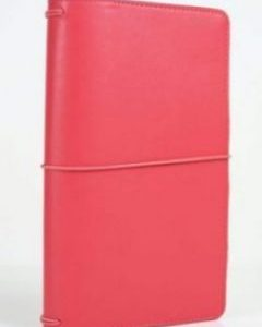 Travelers Notebook - Corallo Echopark Planning Midori Corallo