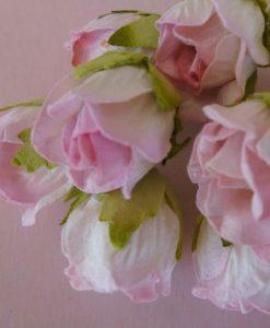 Fiori di Carta - Boccioli di Rosa Selvatica Rosa Baby